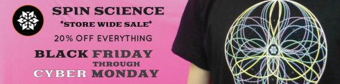 Spin Science Black Friday Cyber Monday Sale